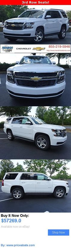 SUVs: Chevrolet: Tahoe 2Wd 4Dr Lt 2 Wd 4 Dr Lt New Suv Automatic Summit White BUY IT NOW ONLY: $57269.0 #priceabateSUVs OR #priceabate