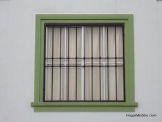 Simple y sencillo diseño de rejas de ventana
