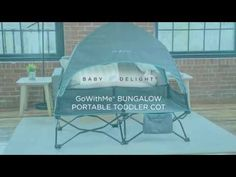 This Baby Delight Go with Me Bungalow Deluxe Portable Travel Cot is a Folding Easy to Use Structure with a Removable Canopy and a Carry Bag. Family Camping, Tent Camping, Folding Canopy, Tent Cot, Best And Less, Travel Cot, Go With Me, Cool Tents, Camping Items