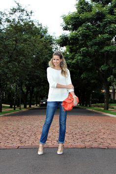 Look tricô + jeans by Marina Casemiro