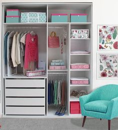 Simple Closet Ideas Diy Wardrobes New Ideas Room Ideas Bedroom, Teen Room Decor, Small Room Bedroom, Bedroom Decor, Bedroom Cupboard Designs, Bedroom Cupboards, Wardrobe Design Bedroom, Bedroom Wardrobe, Closet Layout