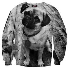 Pug sweater w Mr.Gugu & Miss Go na DaWanda.com