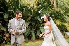 Always love first looks! Negril Jamaica, Charlotte Nc, Destination Wedding Photographer, Bride Groom, One Shoulder Wedding Dress, First Love, Wedding Photography, Wedding Dresses, Fashion