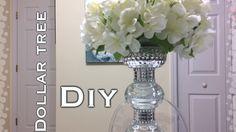 Dollar Tree Glam Centerpiece DIY - YouTube