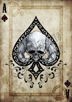 ace of spades card designs - Google Search