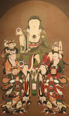 Japanese Buddhism, Buddha Painting, Buddhist Art, Buddhists, Anime, Fictional Characters, Colour, Beauty, Buddhism
