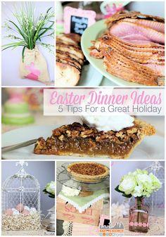 5 Great Easter Dinner Ideas  - #HoneyBakedEaster ad