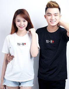 Áo thun cặp LOVE ME lệch màu - B1519 Màu sắc: Phối nhiều màu Chất liệu: Thun Cotton 4 Chiều Xuất xứ: Việt Nam Kích thước: M/L
