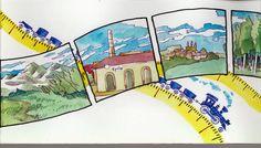 VI Curso de Vuelta con el Cuaderno: Dibujantes al tren. Urumo 006