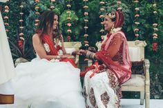 SHANNON + SEEMA | INDIAN LESBIAN WEDDING | LOS ANGELES, CA.  Posted by imsteph on Jul 9, 2013 in Bridal Portraits