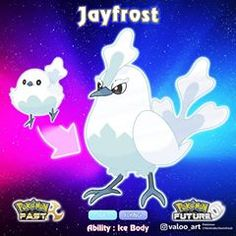 Jayfrost evolves from Bumbaryl starting at level and goes from Normal/Flying to Ice/Flying! Jayfrost is an intelligent Pokémon, often… Gel Nail Art Designs, Nail Designs Pictures, Winter Nail Designs, Pokemon Fake, Pokemon Memes, Pokemon Dex, Nail Art For Girls, Pokemon Eeveelutions, Pet Style
