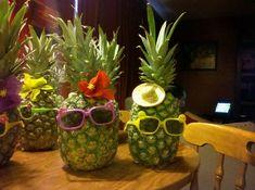 48+ Super Ideas Party Decorations Tropical Pineapple Centerpiece