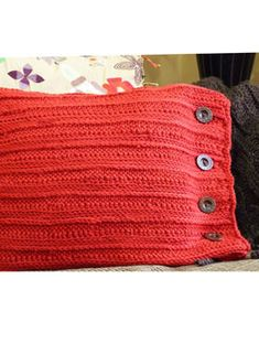 recycled sweater pillowcase