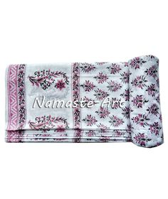 01-10 Yard Indian 100% Soft Cotton Print Art Hand Block Material Voile Fabric  #Unbranded