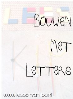Lessen van Lisa - Taal Lego Letters, Spelling, Classroom, Math Equations, Lisa, School, Dyslexia, Class Room, Games