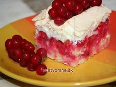 Ríbezľový koláč so zapečeným snehom • Recept | svetvomne.sk