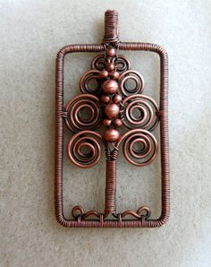 Copper tree - yes, I want a tree to grow copper wire for me...