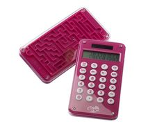 Kids calculator pink Calculator one side ; maze game on the other! www.tinc.net.au