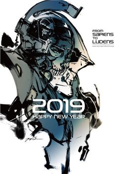 """Happy new year and thanks for your support in the year of 2019 👍🌈🐟🦀🐋🐗"" Cry Anime, Anime Art, Game Character Design, Character Art, Death Stranding Ps4, Dead Stranding, Metal Gear Solid Series, Metal Gear Rising, Kojima Productions"