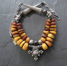 Hey, I found this really awesome Etsy listing at https://www.etsy.com/listing/532432499/antique-moroccan-amber-necklace-with