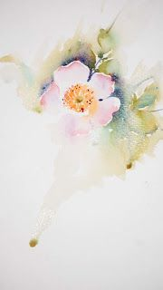 Watercolours With Life: Wild Roses in Watercolour