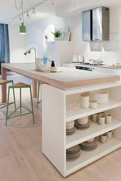 DIY Déco Un Ilot De Cuisine à Faire Avec Fois Rien - Diy deco cuisine pour idees de deco de cuisine