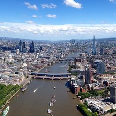 #london basking in the #sun this afternoon! #river #city #scene #bridges #england #britain #instalike #instafollow