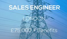We are looking for a Sales Engineer with 5+ years Energy Technology experience! http://www.utilitypeopleuk.com/job/united-kingdom-sales-engineer/