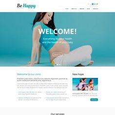 Be Happy Bootstrap WordPress Theme