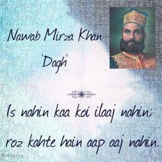 Is nahin kaa koi ilaaj nahin Roz kahte hain aap aaj nahin. Poetry Quotes, Hindi Quotes, Urdu Poetry, Quotations, Qoutes, Love Shayri, Urdu Shayri, Gulzar Quotes, Urdu Thoughts