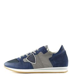 huge discount d572d 63b69 PHILIPPE MODEL   Sneaker TRLUWT50 GREY BLUE Men   Rossi Co  philippemodel   sneaker  mens  fashion  kicks  style  styling  ootd  shoes  online  shop   outlet ...