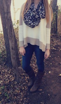 Designer Styles! http://ift.tt/1NQmvOd Love it but I wouldn't wear the scarf ;)