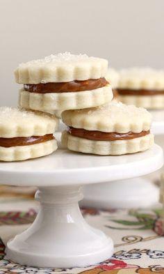 Dulce de Leche Sandwich Cookies (Alfajores)