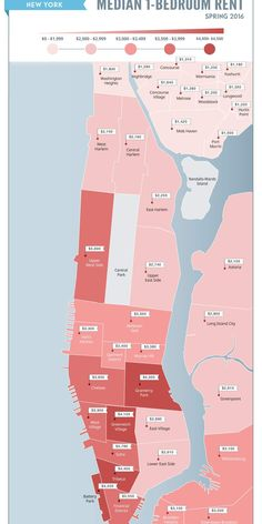 Average Apartment Rent In Brooklyn . Average Apartment Rent In Brooklyn . Manhattan and Brooklyn Rent Prices Across Various New York Rent, Rent In Nyc, New York City, Manhattan Apartment, York Apartment, Bedroom Apartment, Apartment Ideas, Bedroom Decor, Astoria Park