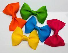 Bright Summer Baby Bows Girl Bows Newborn Bows by GirlyTreasures, $9.99