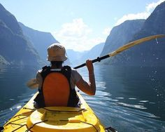 10 gorgeous places to see in a kayak #travel #kayak