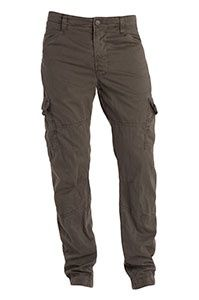 Baggy cargos with fitted calf/ankle
