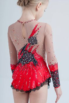 Beautiful leotard in the style of Carmen. by artmaisternia