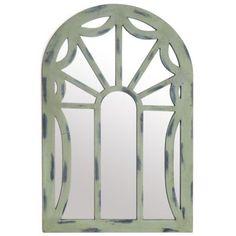 Scarlet Arch Wooden Mirror, 26x38 | Kirkland's