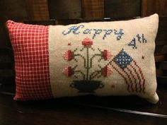 Patriotic Stitches Threadwork Primitives  #patriotic #crossstitch #stitcher #stitch #usa #america