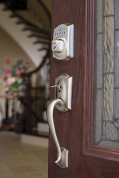 Compliment your entryway with the keyless convenience of Schlage's BE365 Deadbolt in the traditional Camelot design for a lasting first impression.