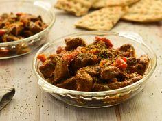 Χοιρινή τηγανιά Curry, Beef, Cooking, Ethnic Recipes, Food, Emoji, Drink, Meat, Kitchen