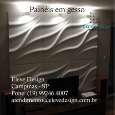 PAINÉIS DECORATIVOS EM GESSO Agora você encontra um Parceiro Vip na cidade Campinas - SP #elevedesign #gesso3d #paineldegesso #decoraçãodeparede #formasdesilicone