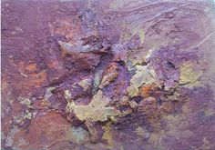 José Bernal - Title Mar sangriento  Work Date 1966  Medium oil on panel  Size h: 5 x w: 7 in / h: 12.7 x w: 17.78 cm