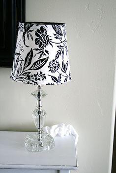 Home Decor Ideas / DIY Slip Cover for Lampshade Tutorial - CotCozy Cover Lampshade, Diy Lampshade, Lamp Cover, Lampe Decoration, Decorations, Do It Yourself Inspiration, Decorating On A Budget, Interior Decorating, Interior Design