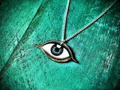All seeing eye of Providence eye of god occult Necklace by TheTamerlane, $17.00 #occultjewelry #allseeingeye #uniquejewelry