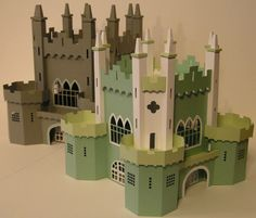 chateau 3D silhouette cameo