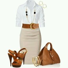 Interview outfit.  Love it