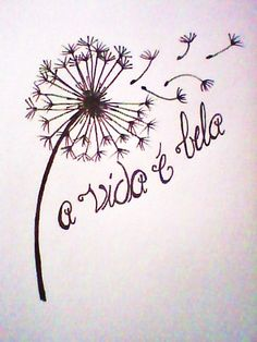 """Maybe with a different flower? Saying """"La vita é bella."""" so it would be Italian"""