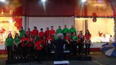 Coral Gaudeamus in Domino Natal 2014 -Loja tudo casa